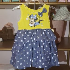 Baby girl Minnie dress size 12 months